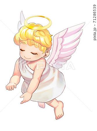 かわいい天使のイラスト 71286539