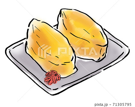 食べ物 イラスト いなり寿司 71305795