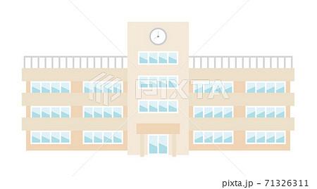 学校の建物イラストイメージ 71326311