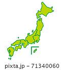 日本地図 71340060