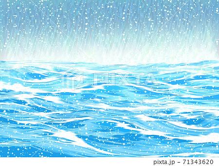 海に降る雪 71343620