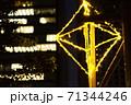 【大阪なんば】なんばパークスのイルミネーション【高層ビルとセット】 71344246