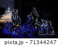 【大阪なんば】なんばパークスのイルミネーション【クリスマス・デートスポット】 71344247