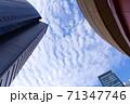 【記事素材に】都会の青空【ビジネス】 71347746