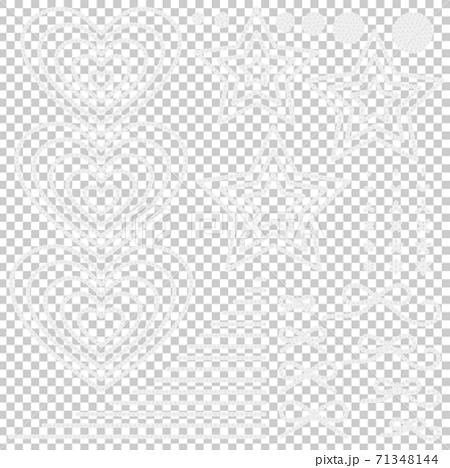 編織鏈針心等白色 71348144