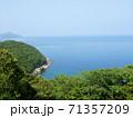四浦半島の海景色 (大分県津久見市) 71357209