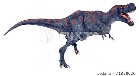 白亜紀後期の肉食恐竜 肉食恐竜タルボサウルス・バタールの咆哮 ...