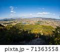 秋の嶽山(香川県三木町)から高松市街方面を望む 71363558