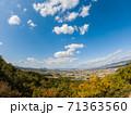 秋の嶽山(香川県三木町)から高松市街方面を望む 71363560