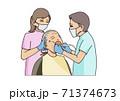 訪問歯科診療 71374673