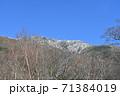 初冠雪の早池峰山 71384019