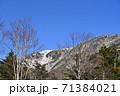 初冠雪の早池峰山 71384021