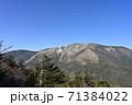 初冠雪の早池峰山 71384022