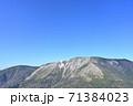 初冠雪の早池峰山 71384023