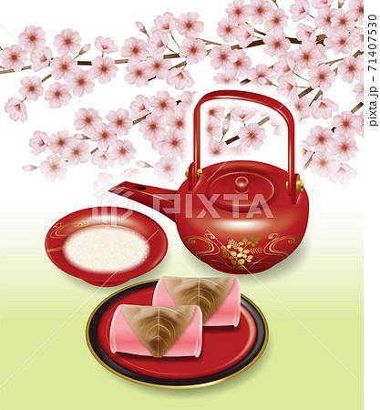 桜祭りのイラスト 71407530