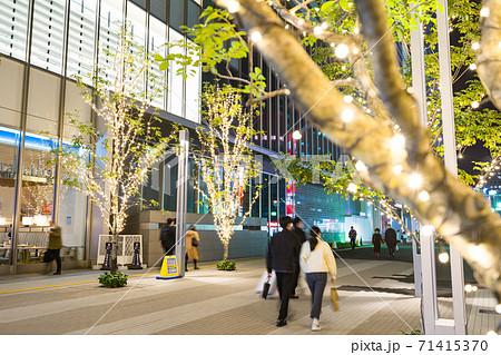 名古屋市中区 名古屋駅前 イル ミネーション JRゲートタワー前 71415370