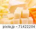 チーズ盛り合わせ カマンベールチーズ他 クローズアップ 71422204