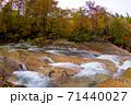 ダム湖に沈むことになった渓流 赤滝 秋田県 71440027