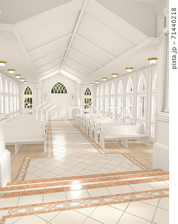 白い教会 71440218
