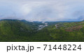 360 panorama by 180 degrees angle seamless panorama of aerial top view of green Mountain hill. Nature landscape background in Phetchabun, Thailand. 71448224