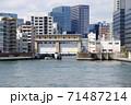 亀島川水門(東京都中央区) 71487214