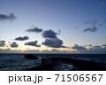 サーファーの聖地ビアリッツの海と空 71506567