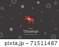 背景 クリスマス パターン 71511487