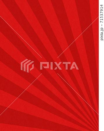 日の出をイメージしたおめでたい雰囲気の赤い背景 - 複数のバリエーションがあります 71537914