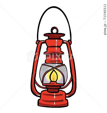 オイルランプのイラスト 71540311