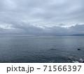 海から曇 71566397