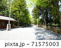 穂高神社(鳥居右側の道) 71575003