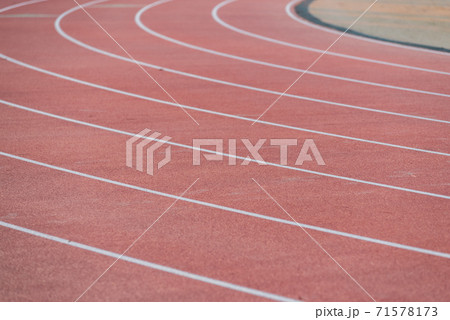Track and field lane 71578173