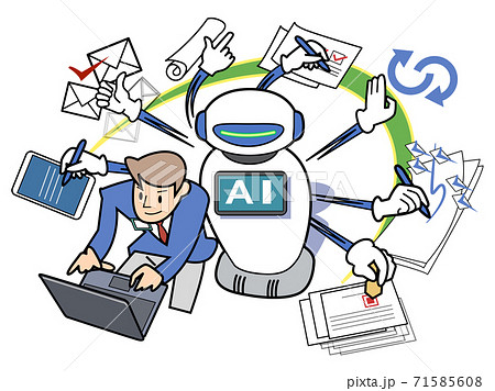 ロボットがサポート-マルチタスク 71585608