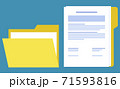 Folder and Document Paper, Broker Collaboration 71593816