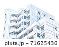【イラスト】新築マンション【色鉛筆】 71625436