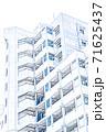 【イラスト】新築マンション【色鉛筆】 71625437