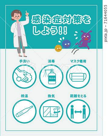 感染症対策 セット 71644055