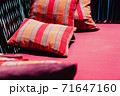 Colorful Cushion In Sofa 71647160