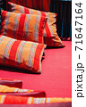 Colorful Cushion In Sofa 71647164