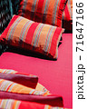 Colorful Cushion In Sofa 71647166