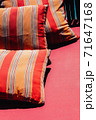 Colorful Cushion In Sofa 71647168