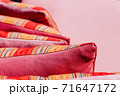 Colorful Cushion In Sofa 71647172