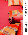 Colorful Cushion In Sofa 71647180