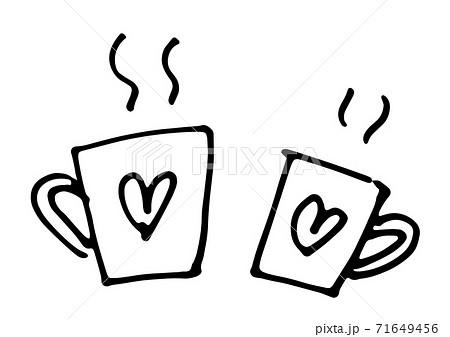 バレンタインラインマグカップ 71649456