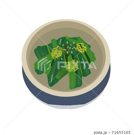 菜の花の辛子和え 71655105