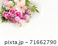 ガーベラとカーネーションの花束 71662790
