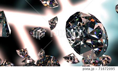 ダイヤモンド イラスト 71672095