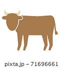 ジャージー牛 71696661