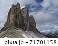 ドロミテ トレチーメ巨岩群 71701158