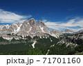 ドロミテ クリスタッロ山 71701160